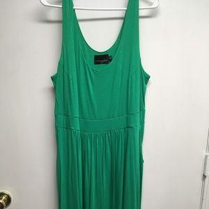 Cynthia Rowley Green Dress 2X